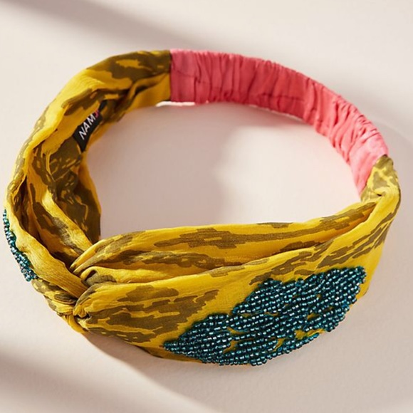 Anthropologie Accessories - Anthropologie Lola Beaded Headband